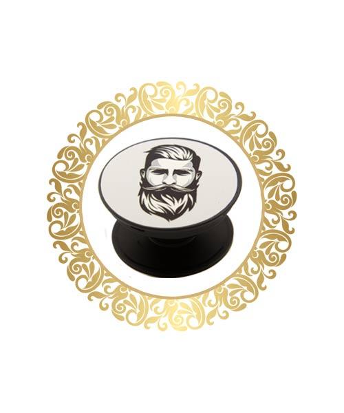Bearded man trendy popsockets India.