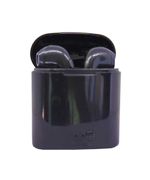 TWS earbuds bluetooth black.