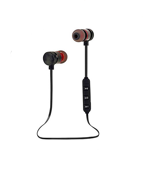 Magnetic bluetooth earphone sports.