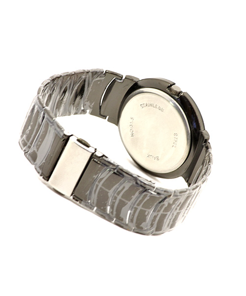 Black anodised men's watch.