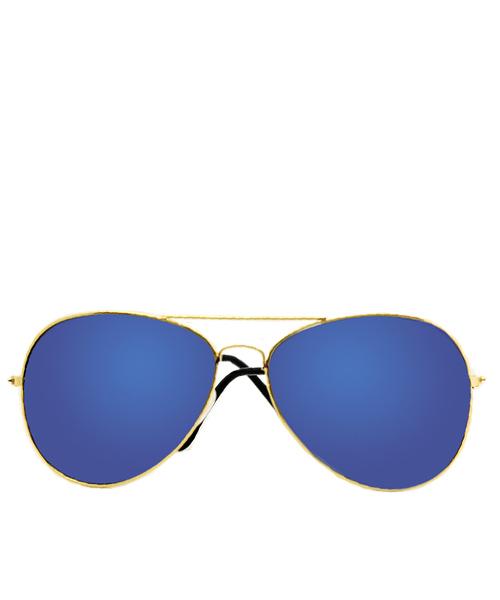 Oversized aviator sunglasses for women.