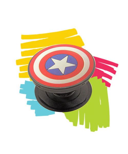 Superhero mobile popsocket.