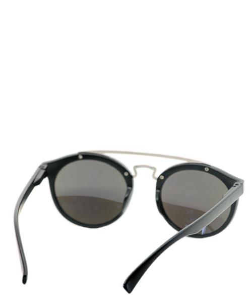 Cat eye double bridge sunglasses in blue lens for women girls.