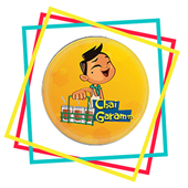 Chai Garamm Fridge Magnet
