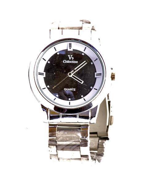 Steel watch for men.