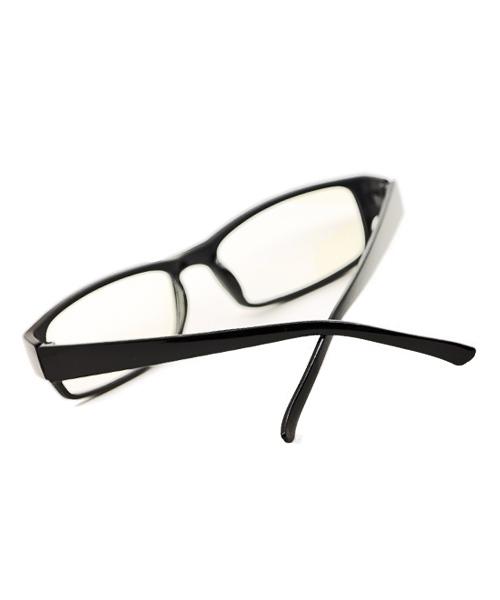 Unisex computer glasses With anti glare coating.