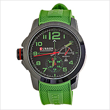 Curren Green Mens Watch