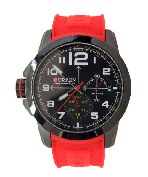 Red Curren M-8182A mens watch.