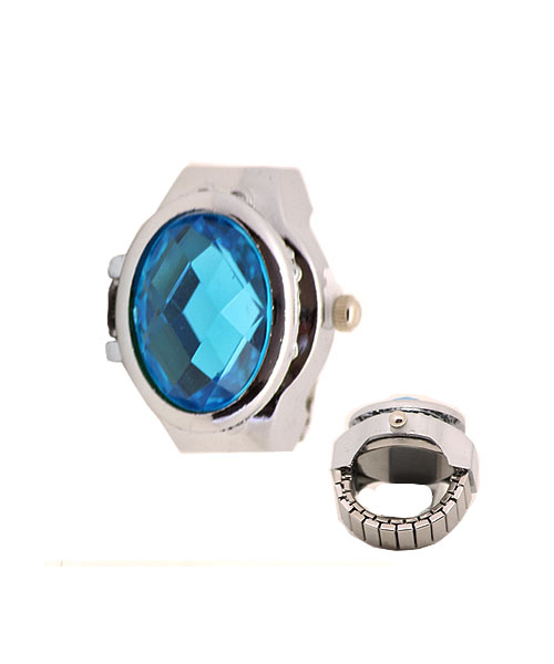 New design unique concept stylish finger ring watch for girls & women.