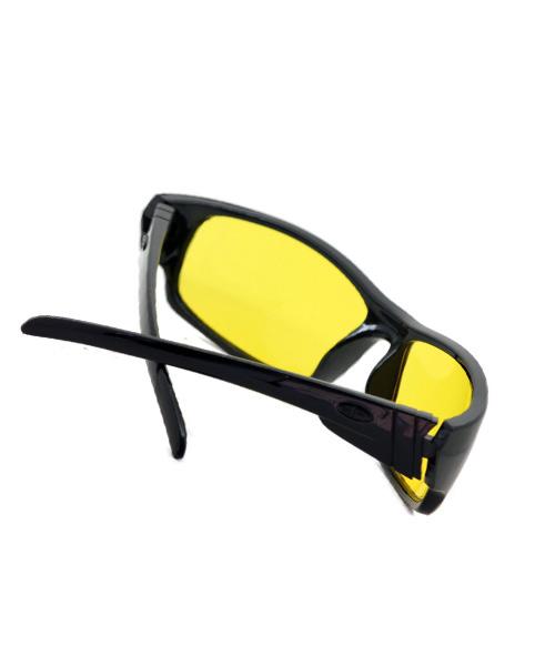 Anti-glare day night driving glasses.