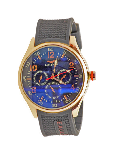 Rose gold men's watch.