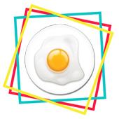 Egg Fridge Magnet