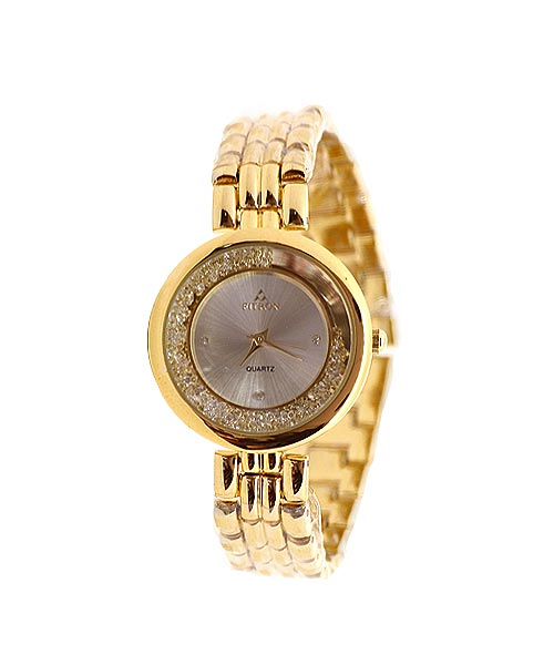 Fitron womens gold watch.