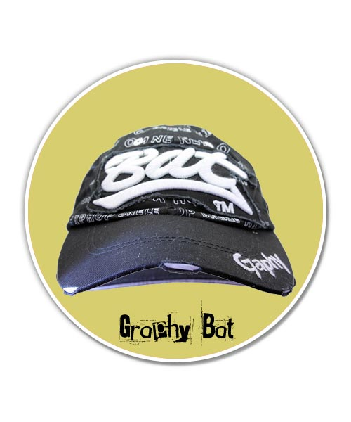Graphy bat blue cap boys.