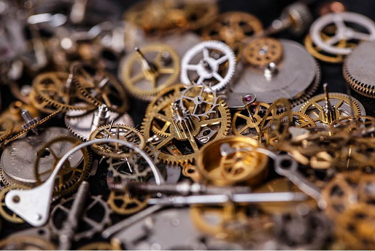 Horology - the art of watch making.