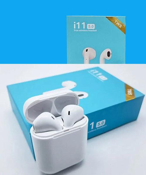 TWS i11 earpods white.