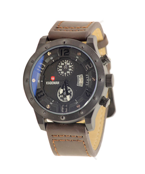 Rugged distinct luxury watch from Kademan for boys men.