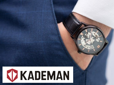 Kademan Mens Watches Poolkart