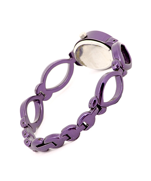 Stunning purple watch for women.
