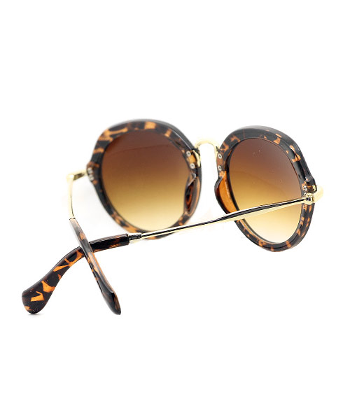 Womens fashion sunglasses leopard print.