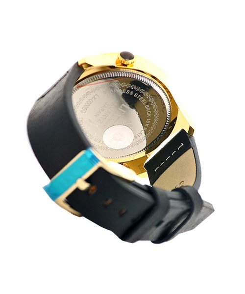 Lexros mens boys watch with dual time.