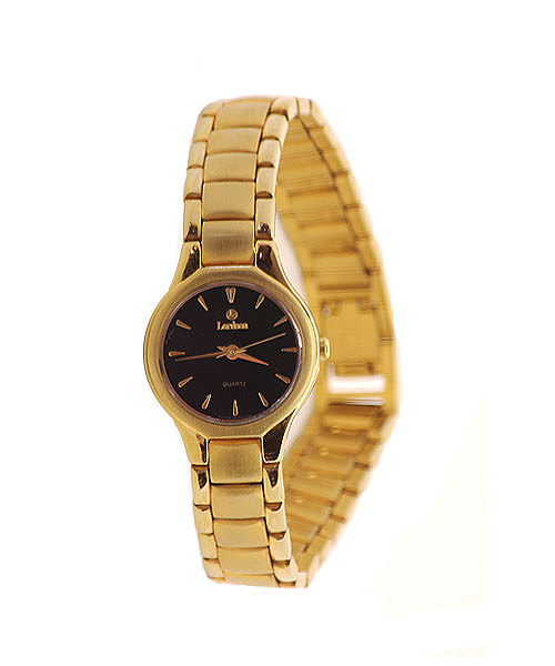 Lordson 18K gold plated girls watch.