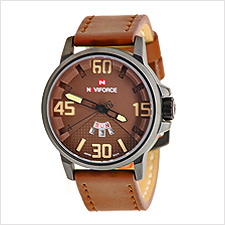 Naviforce Day Date Mens Watch