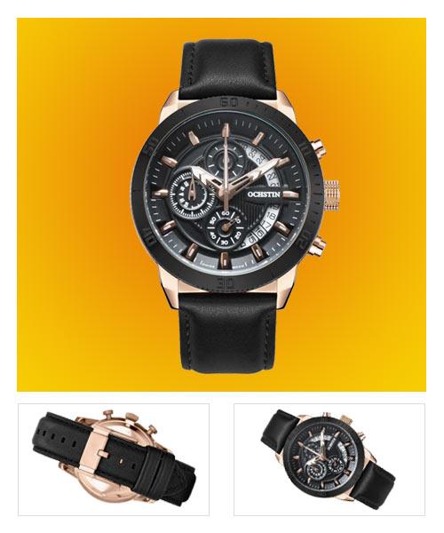 Ochstin 7078 business chronometer mens watch.