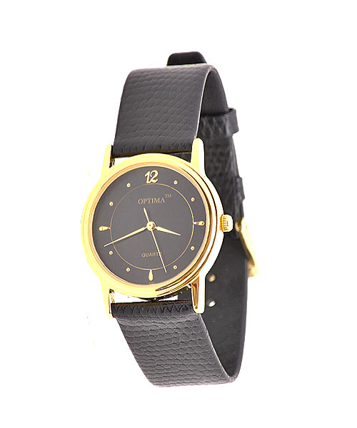 Branded classic gold men's watch.
