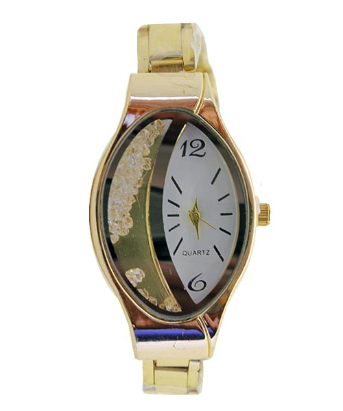 Happy diamonds oval womens watch.