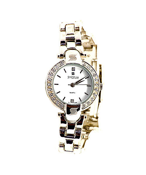 Sveston silver bracelet watch.
