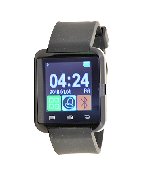 Black smart watch – no sim.