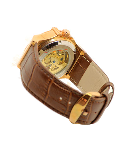 Shadow automatic mechanical mens watch.