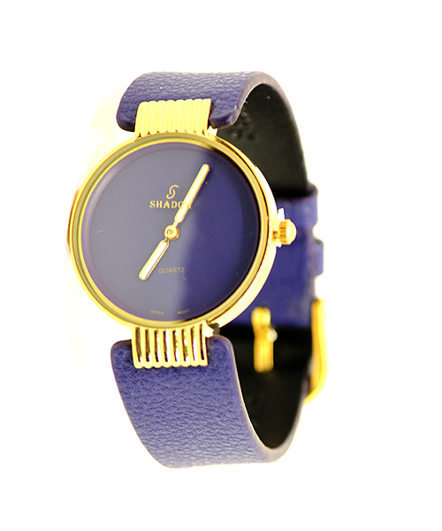 Gold women's watch.