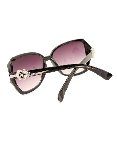 Womens butterfly shaped sunglasses.