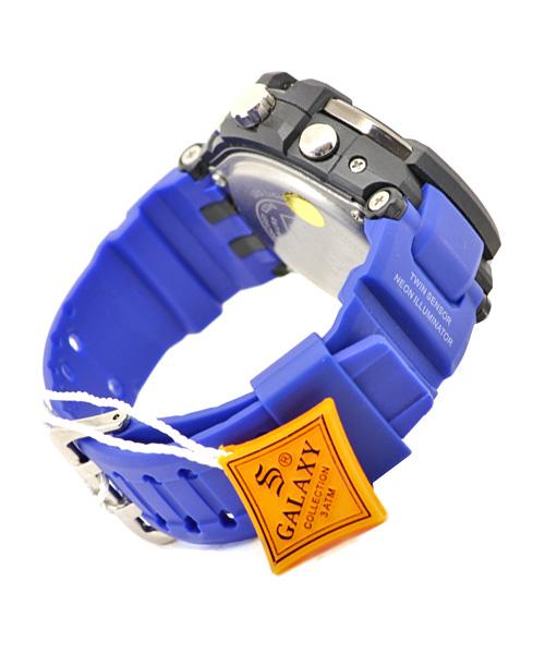 Blue S Galaxy men's watch.