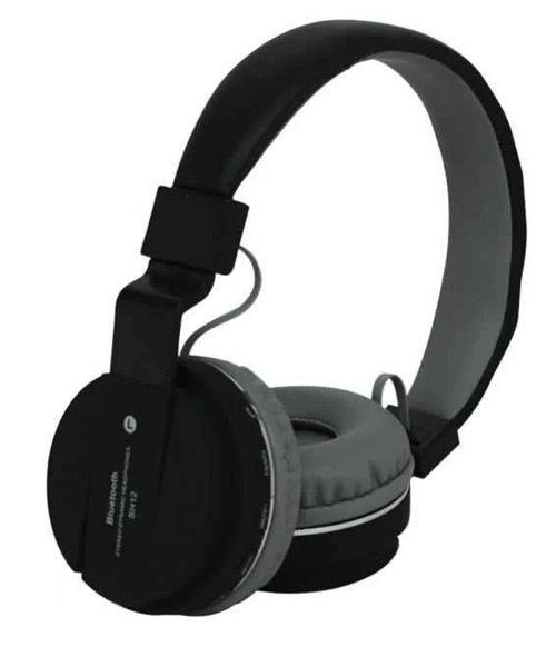 SH-12 bluetooth over the ear headphone.
