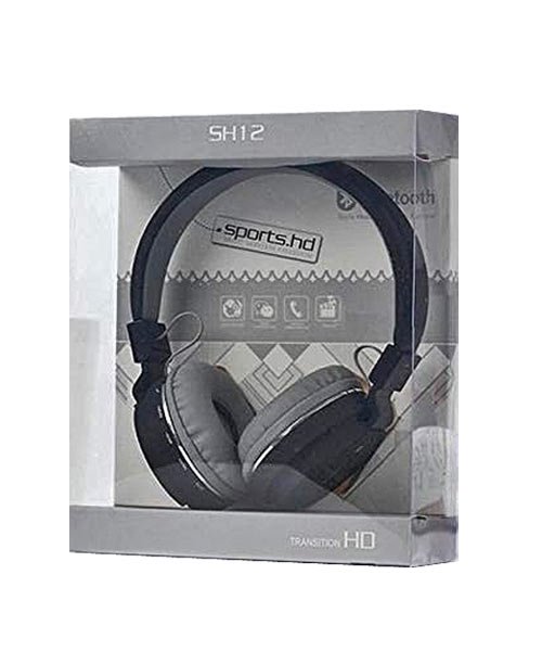 SH-12 bluetooth over the ear headphone.