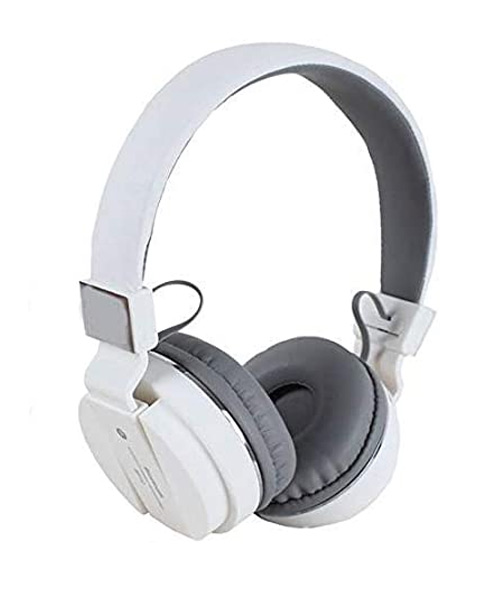 SH-12 bluetooth over the ear headphone white.