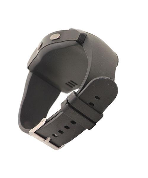 Unisex round smart watch.