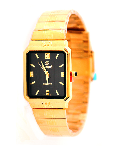 Sveston gold watch.