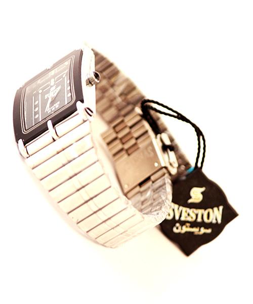 Sveston steel watch for men.