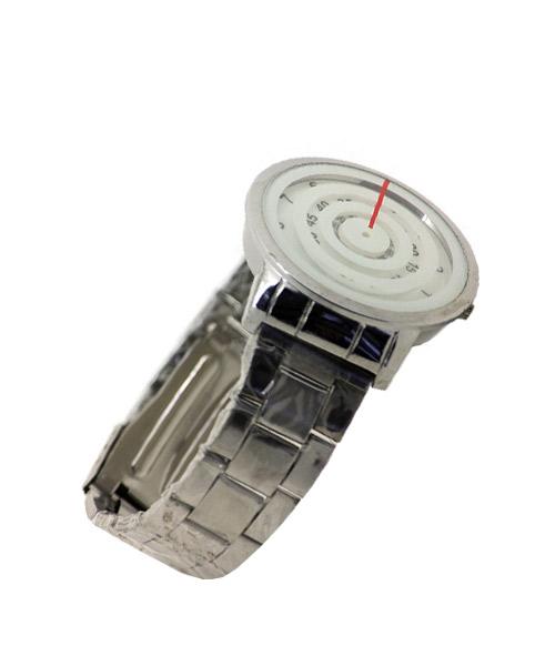 Three rotating discs futuristic watch for boys.