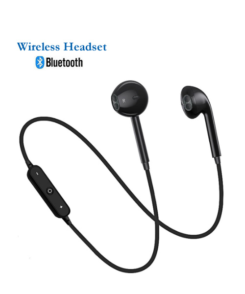 Wireless bluetooth in ear headset with mic 3.