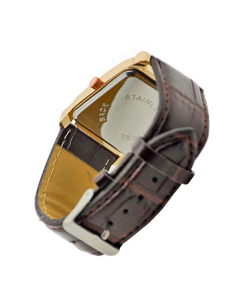 Rectangular watch for women.