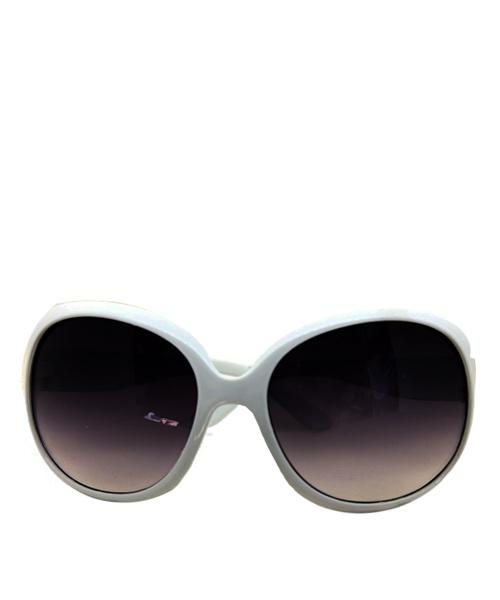 Retro round oversized sunglasses women.