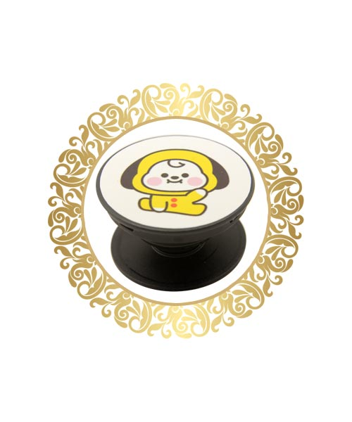 Affordable yellow doll pop socket India.