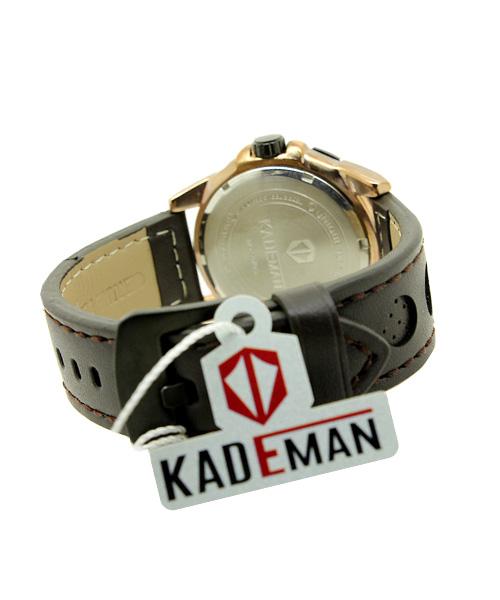 5070G Kademan mens gold watch.
