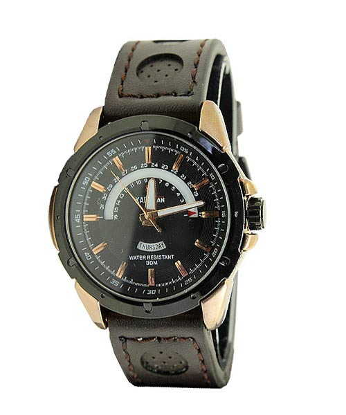 Kademan 5070G luxury business watch.