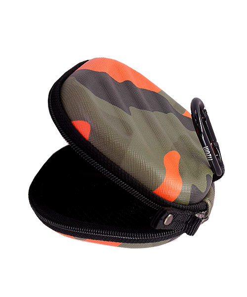 Tizum hard shell camouflage carrying case.